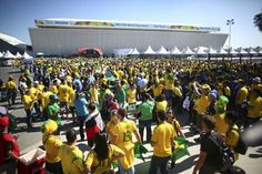 Inauguración Copa mundial de la Fifa 2014