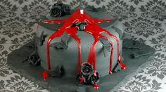Chauves-souris (gâteau Halloween)