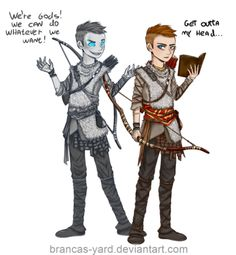This took me a looong time omg, but here it is The new God of War is AWESOME, such a masterpiece, i'm in deep love with Atreus . Loki and Atreus Video Games Funny, Funny Games, Lego Marvel Spiderman, Panthers Memes, Kratos God Of War, Cartoon Crossovers, Fantasy Warrior, Video Game Art, Dragon Age