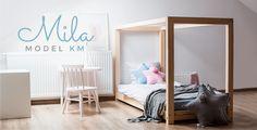 Drewniane łóżka dla dzieci
