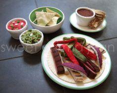 Thanksgiving Dinner Felt Play Food Pattern by sweetemmajean