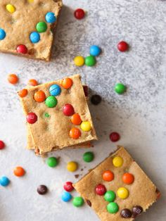 These simple and fun peanut butter cookie bars filled with M&Ms are here to satisfy your sweet craving! We spent a weekend in Vegas this month and since we had the kids with us, we made a stop at the M&M Factory. And you guys, sooo much candy came home with us. We've been slowly …