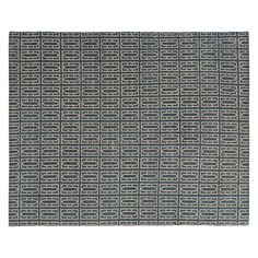 Gate Hand-knotted Wool Rug - Modern Patterned Rugs - Modern Rugs - Room & Board