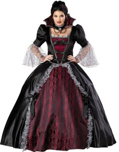 VAMPIRESS-OF-VERSAILLES-ELITE-ADULT-PLUS-WOMENS-COSTUME-Halloween-Victorian-Gown