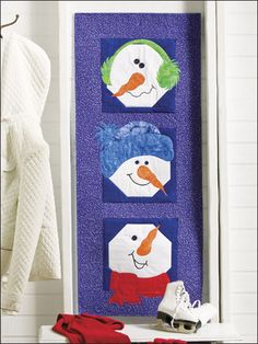 very cute pattern! cheery display for those cold gray days of January.