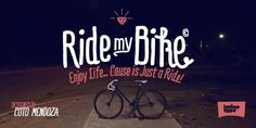 Nice handwritten font, could be good for invitations. Ride my Bike - Webfont & Desktop font « MyFonts