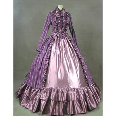 Ladies Victorian Edwardian Costume ($58) ❤ liked on Polyvore