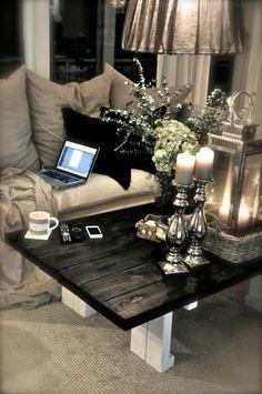 Black & white table