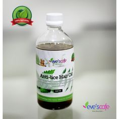 Treat Your Head Lice With Anti lice Hair Oil - Anti lice Hair Oil is a standout amongst the best and basic approaches to dispose of these parasites. When you understand that your kid has head lice you may need to pick between a conventional and natural lice treatment and a few home solutions for head lice. Evescafe Anti lice Hair Oil available in a various combination like 100 ml, 250 ml & 500 ml. Visit: http://www.evescafe.in/shop/home/29-anti-lice-hair-oil.html