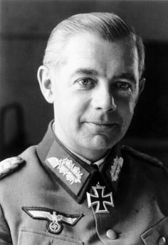 """Major Gen. Walter #Wenck was the youngest general of the German Army during #WW2 -- """"the Boy General"""" as he was called. In the closing days of the Battle of Berlin he was given command of the 12th Army and ordered to relieve #Berlin. Since this was impossible, Wenck focused on extracting his troops and as many refugees as possible from Soviet reach; at least 300,000 soldiers and civilians were thus saved from the #Soviets. Ironically, the general was killed in a traffic accident in 1982."""