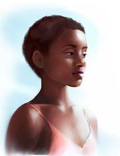 Black Women, Portraits, Portrait Paintings, Portrait, Portrait Photography, African Women, Black Girls