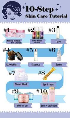 THE TUTORIAL: The 10-Step Korean Skincare Routine