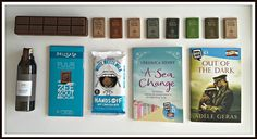 Suze likes, loves, finds and dreams: Chocolate Weekend Giveaway: Shower Gel, Chocolate and Books