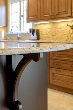 #DIY Kitchen Remodels – Do it Yourself or Hire a Contractor? I like the bracket shape
