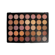 Amazon.com : Morphe Pro 35 Color Eyeshadow Makeup Palette - Taupe... (£50) ❤ liked on Polyvore featuring beauty products, makeup, eye makeup, eyeshadow and palette eyeshadow