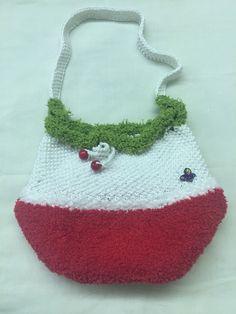 Вязание спицами. Сумка для девочки Crochet Necklace, Handmade, Jewelry, Fashion, Hand Made, Jewlery, Moda, Crochet Collar, Jewels