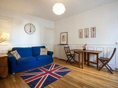 Un bel appartement à découvrir aujourd'hui : celui de Caroline dans le 14eme arrondissement de Paris. 139€ par nuit pour 6 personnes