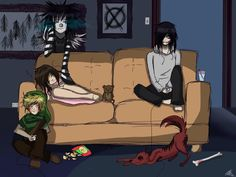 The Creepypasta Family :) (Missing some people though T_T)