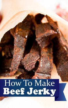 Michael Symon's beef jerky recipe makes it easy to create your own snacks.