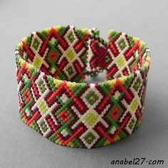 "Bracelet ""Spring Patterns"""