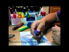 ▶ Mixed Media Techniques using Gelatoes, stamps, stencils - YouTube