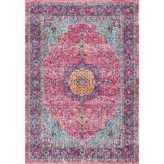 Winterbury Pink Rug