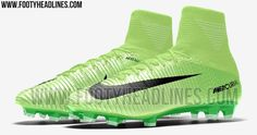 Electric Green Nike Mercurial Superfly V 2017 Boots Leaked - Footy Headlines