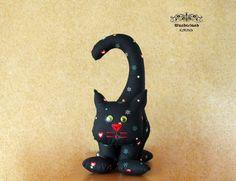 Weiteres - Stoff Katze - ein Designerstück von Svetik-Z bei DaWanda