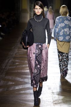 Dries Van Noten Fall 2015 Ready-to-Wear Fashion Show - Astrid Holler (IMG)