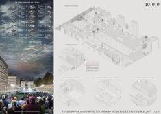 Galería de B+V Arquitectos + CHEB Arquitectos + François Jullien, mención honrosa concurso edificio municipal Providencia y su plan maestro - 5