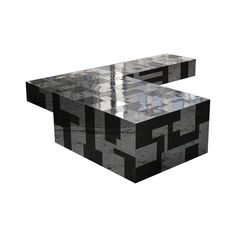 Paul Evans Directional Cityscape Cantilever Table II - Todd Merrill