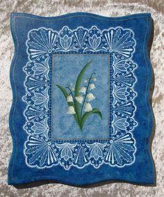 Примеры кружевной росписи с сайта laceartcreations.com