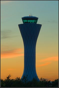 Edinburgh Air Traffic Control Tower, Scotland