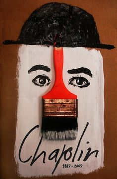 Charlie Chaplin cartaz comemorativo http://www.usebristol.com.br/
