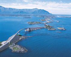 Autoroute en Norvège