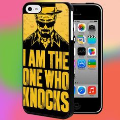 BREAKING BAD I AM THE ONE WHO KNOCKS FOR IPHONE AND SAMSUNG GALAXY CASE #PnY