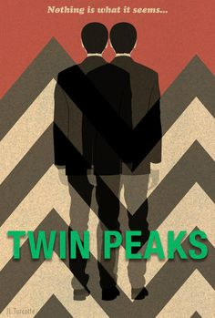 angelswouldnthelpyou:  Twin Peaks artwork by JL Turcotte