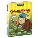 Curious George fruit flavored snacks for his party and use for cut outs for decorations
