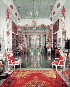 loveisspeed.......: Dodie Rosenkrans Venice Palace İtaly , Renovated by Tony Duquette