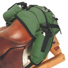 English Cantle Saddlebag ~ nice for trail riding. Western also available.