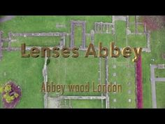 Lesnes Abbey Aerial View Abbey wood London UK Erith Town, Dive Resort, Aerial View, London, Wood, Nature, Youtube, Blue, Naturaleza
