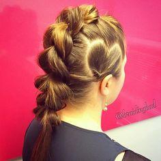 ❤️❤️ Here's a rocking braid with a little sweet touch  #pullthroughbraid with a #heart accent on @iamladyrara ❤️ . . #festivalhair #läpivetoletti #sydänletti#heartbraid #braidinghair #braidideas #instabraids #letti #lettikampaus #letitys #hairdo #hairstyles #peinados #plaitedhair #suomiletit #hotbraidsmara #braidsforever #beyondtheponytail #braidingchallenge #featureaccount_ #braidinginspiration #inspirationalbraids #cghphotofeature #see_your_braids