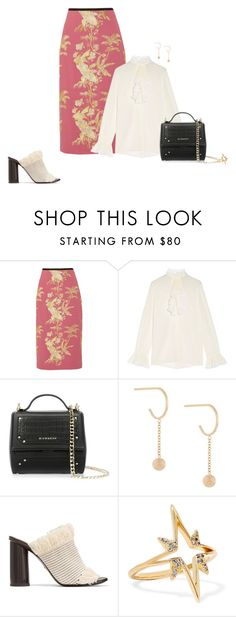 """""""Untitled #1513"""" by biancateicu ❤ liked on Polyvore featuring Erdem, Gucci, Givenchy, By Boe, Proenza Schouler and Elizabeth and James"""