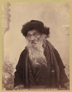 """Jew of Jerusalem"" from the Matson Photograph Collection"