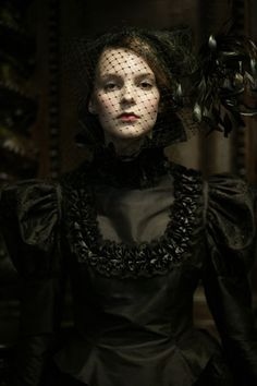 Steampunk/Gothic Ladies | Beauty | Fashion | Costume | Creativity | Couture | a slightly more sultry take on classic Victorian mourning wear.