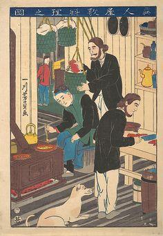 Utagawa Yoshikazu, 1850–1870