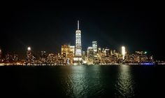 Manhattan southside looks great at night by Hudson River... #manhattan #worldtradecenter #newyork #jersey #usa #travel #travelgram #travelingram #wanderlust #instadaily #picoftheday #pictureoftheday #river #night #city #photooftheday #sony #xperia #citylife #lights #nighttime