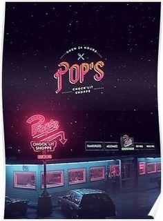 Pop's Diner Poster