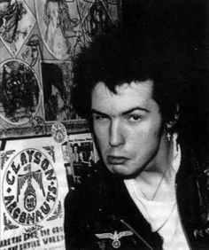 The Punk and New Wave Links of Marc Bolan. Sid Vicious from the Sex Pistols.