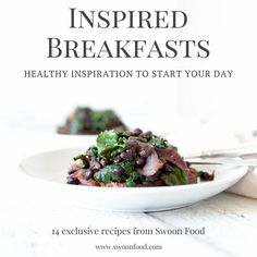Inspired Breakfasts Promo
